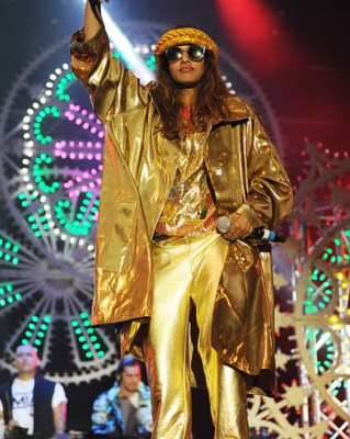 M.I.A was the golden girl